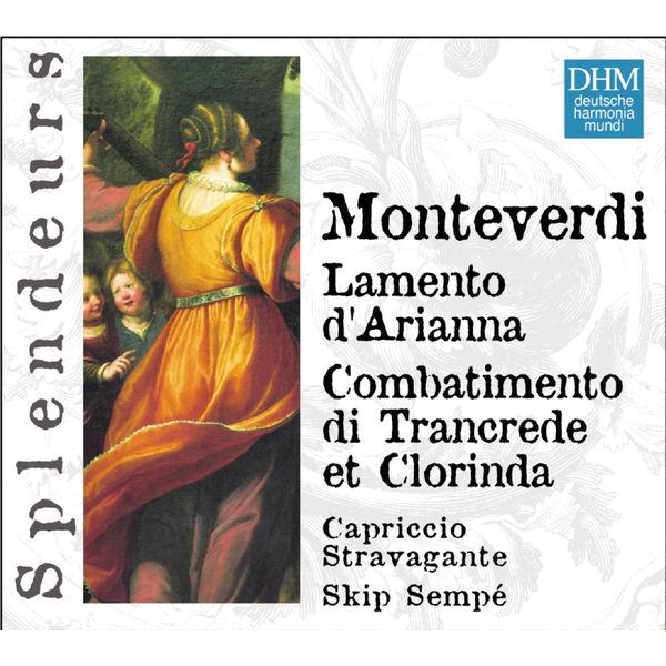 Skip Sempé DHM Splendeurs: Monteverdi Lamentations D' Arianne