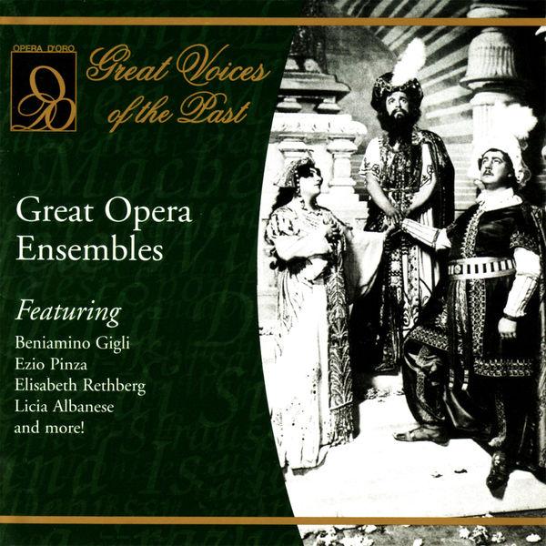 Various Artists - Great Opera Ensembles