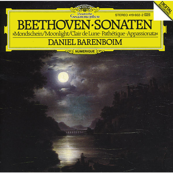 "Daniel Barenboim - Beethoven: Piano Sonatas Nos.8 ""Moonlight"", 14 ""Appassionata"" & 23 ""Pathétique"""