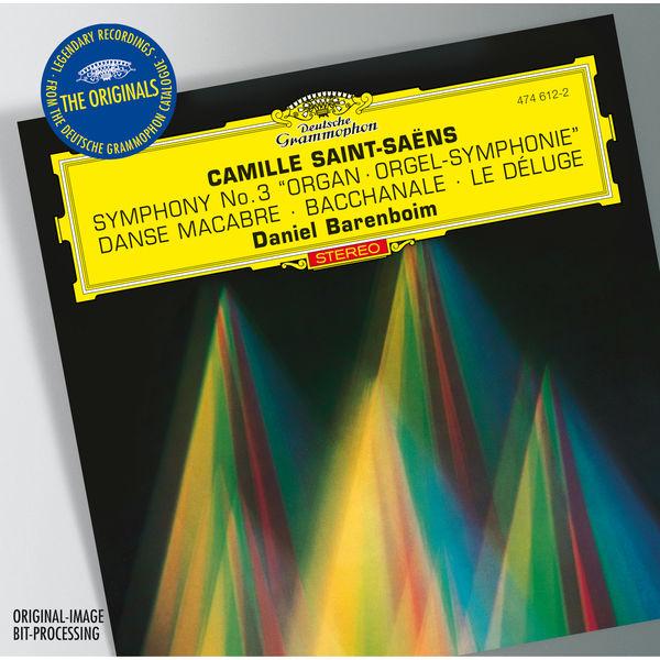 """Daniel Barenboim - Camille Saint-Saens : Symphony No.3 """"Organ"""" - Bacchanale from """"Samson et Dalila"""" - Prélude from """"Le Déluge"""" - Danse macabre"""