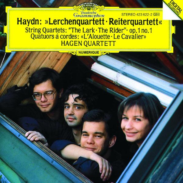"""Hagen Quartett - Haydn: String Quartets Op.64 No.5 """"The Lark""""; Op.1 No.1; Op.74 No.3 """"The Horseman"""""""