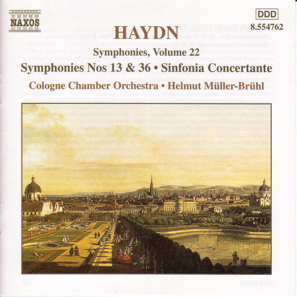 Cologne Chamber Orchestra - Symphonies (Volume 22)