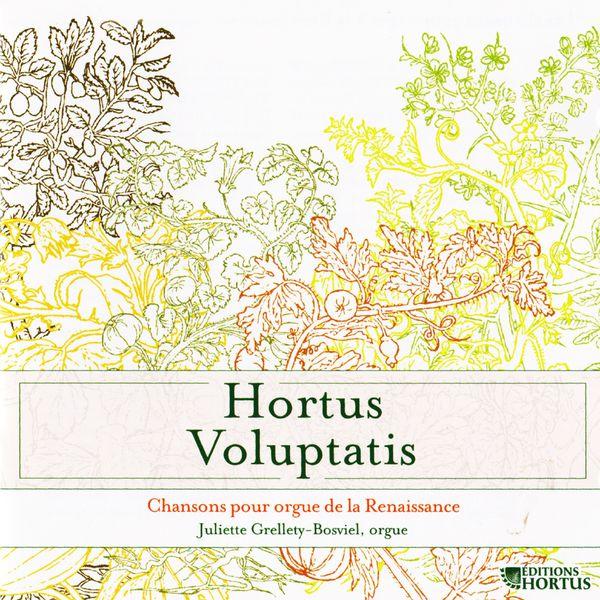 Juliette Grellety Bosviel - Hortus Voluptatis: Chansons pour orgue de la Renaissance