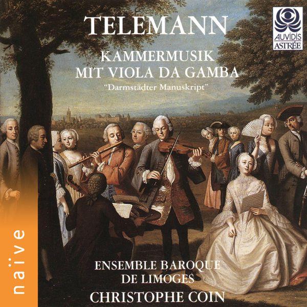 Christophe Coin - Telemann: Kammermusik mit viola da gamba (Darmstädter Manuskript)