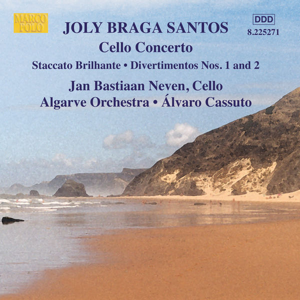 Algarve Orchestra - Braga Santos: Cello Concerto / Divertimentos Nos. 1 and 2