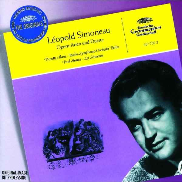 Léopold Simoneau - Léopold Simoneau - French & Italian Arias And Duets