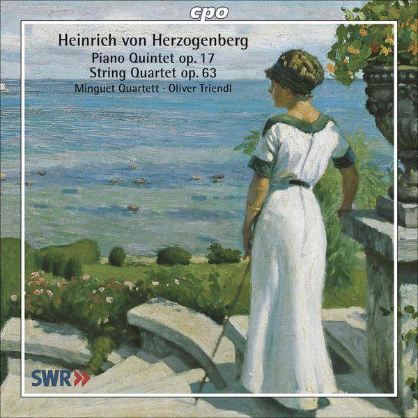 Minguet Quartet - Herzogenberg, H. Von: Piano Quintet, Op. 17 / String Quartet No. 5