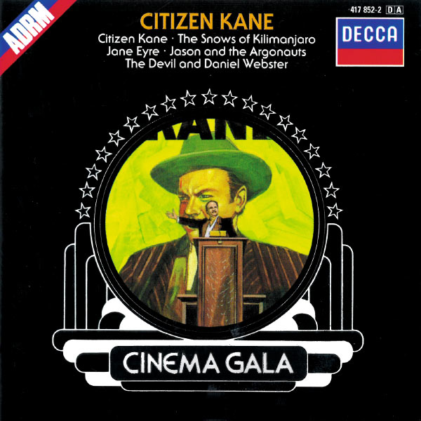 London Philharmonic Orchestra - Citizen Kane - Film Music by Bernard Herrmann