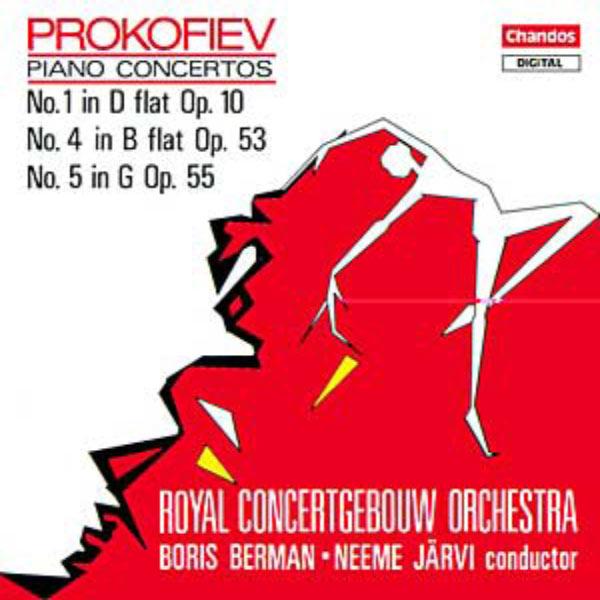 Boris Berman - Concertos pour piano n° 1, 4 & 5
