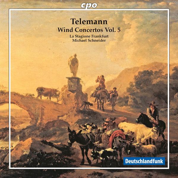 Stagione Frankfurt, La - Telemann : Wind Concertos, Vol. 5