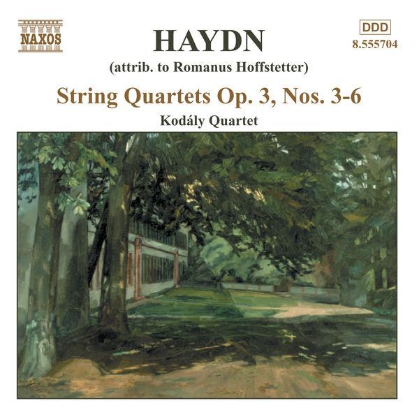 Kodaly Quartet - Haydn: String Quartets Op. 3, Nos. 3 - 6
