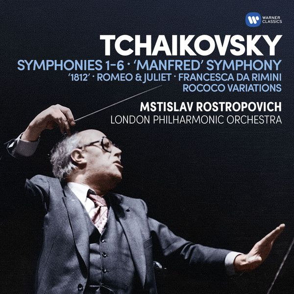 London Philharmonic Orchestra - Tchaikovsky: Symphonies  Nos 1-6, Manfred Symphony, Overtures & Rococo Variations