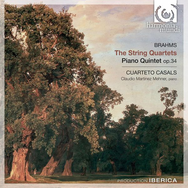 Cuarteto Casals - Brahms: The String Quartet & Piano Quintet, Op. 34