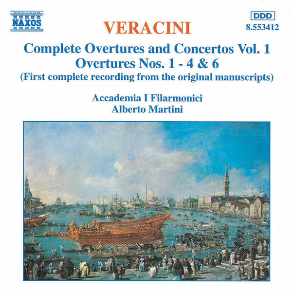 Accademia I Filarmonici - Overtures and Concertos,  Vol.  1