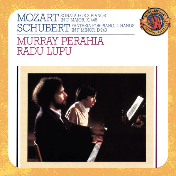 Murray Perahia, Radu Lupu - Mozart: Sonata for 2 Pianos in D Major, K. 448 - Schubert: Fantasie in F Minor, Op. 103, D. 940