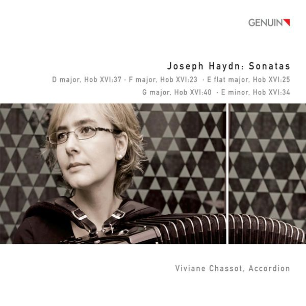 Viviane Chassot - HAYDN, F.J.: Keyboard Sonatas - Nos. 23, 38, 50, 53, 54 (arr. for accordion) (Chassot)