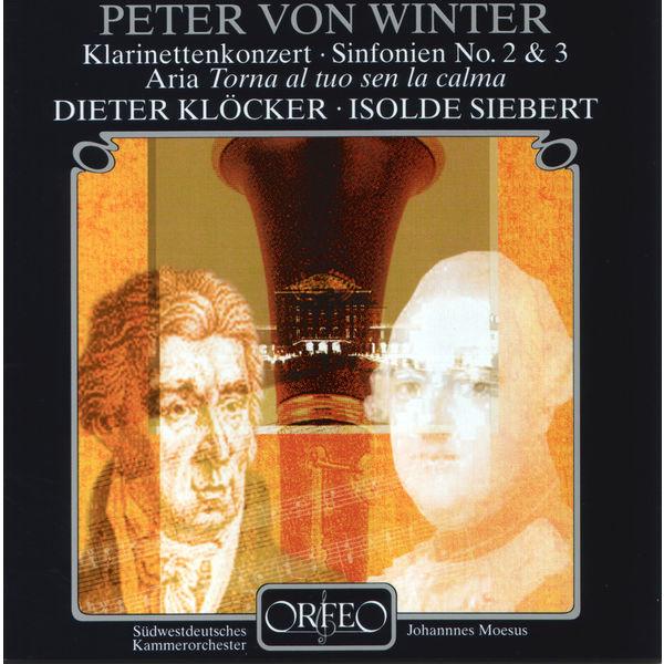 Südwestdeutsches Kammerorchester Pforzheim - Peter Von Winter: Clarinet Concerto in E-Flat Major, Symphonies Nos. 2 & 3 & Aria