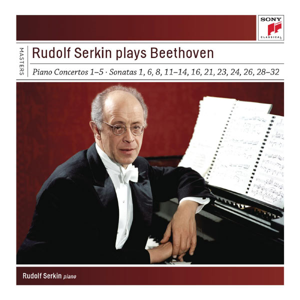 Rudolf Serkin - Rudolf Serkin plays Beethoven concertos, sonatas & variations