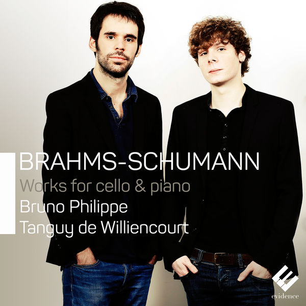 Bruno Philippe - Brahms & Schumann: Works for Cello and Piano