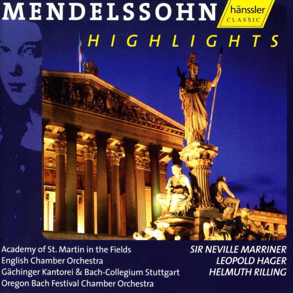 "Various Artists - MENDELSSOHN, Felix: Violin Concerto in E minor / Symphony No. 4, ""Italian"" / Oratorio excerpts (Mendelssohn Highlights)"