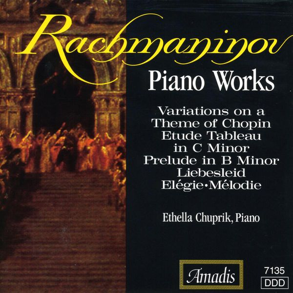 Ethella Chuprik - Rachmaninov: Piano Works
