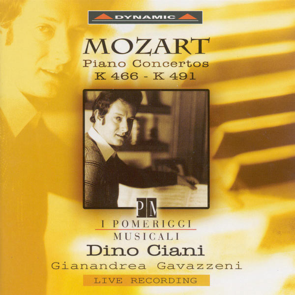 Dino Ciani - Mozart: Piano Concertos Nos. 20 and 24