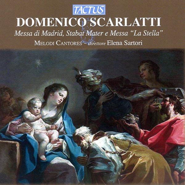 """Melodi Cantores - Scarlatti: Messa di Madrid - Stabat Mater - Messa, """"La Stella"""""""