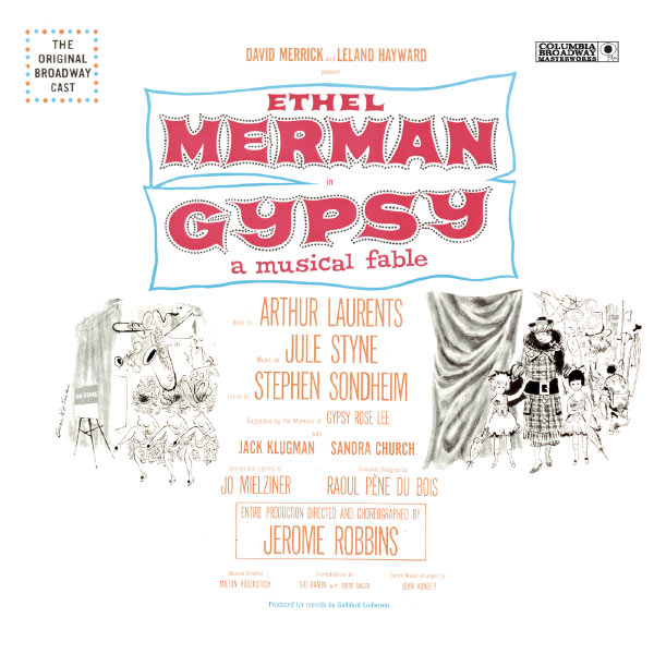 Ethel Merman - Gypsy (Original Broadway Cast Recording)