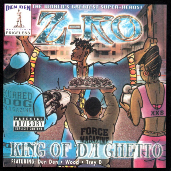Z-ro king of da ghetto slowed & chopped by dj crystal clear.