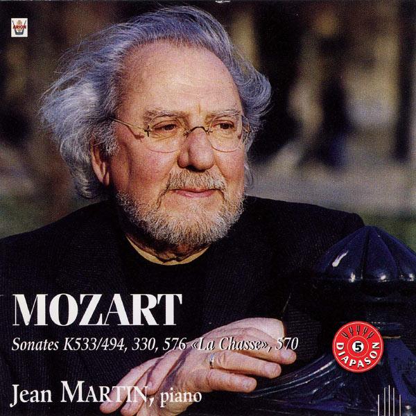 Jean Martin - Sonates pour piano