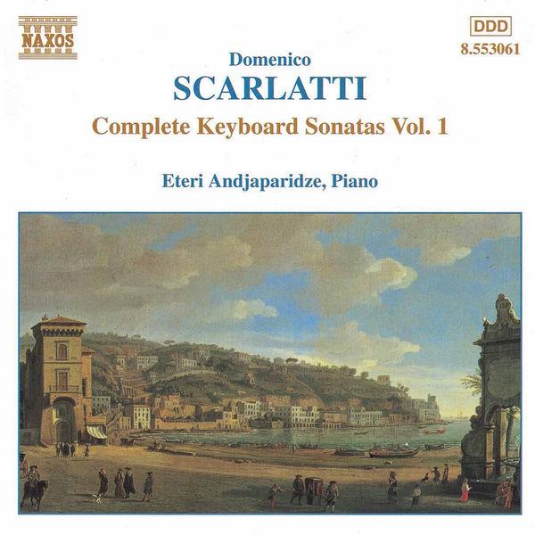 Eteri Andjaparidze - Sonates pour clavier (Intégrale, volume 1)