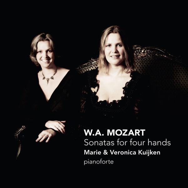 Veronica Kuijken - Mozart : Sonatas for four hands