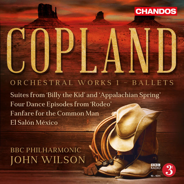 BBC Philharmonic Orchestra - Copland: Orchestral Works, Vol. 1 – Ballets