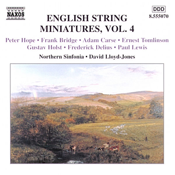 David Lloyd-Jones - Hope, Bridge, Carse, Tomlinson, Holst, Delius, Lewis