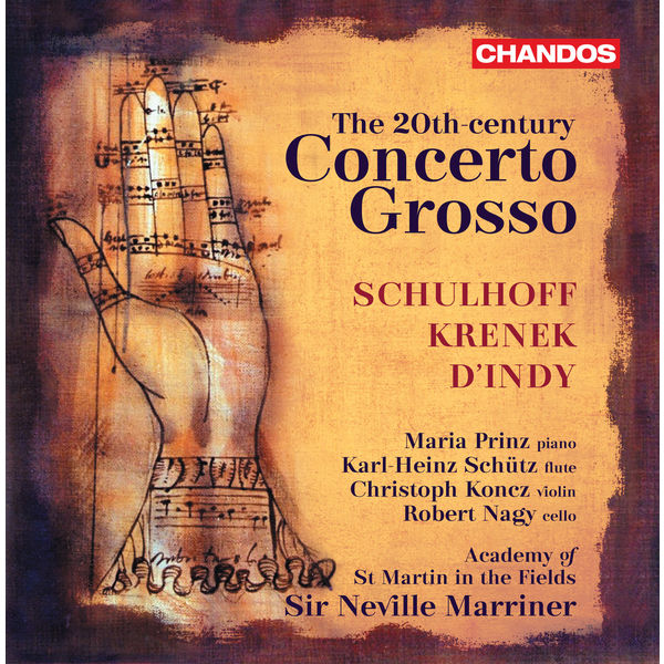 Sir Neville Marriner - The 20th Century Concerto grosso