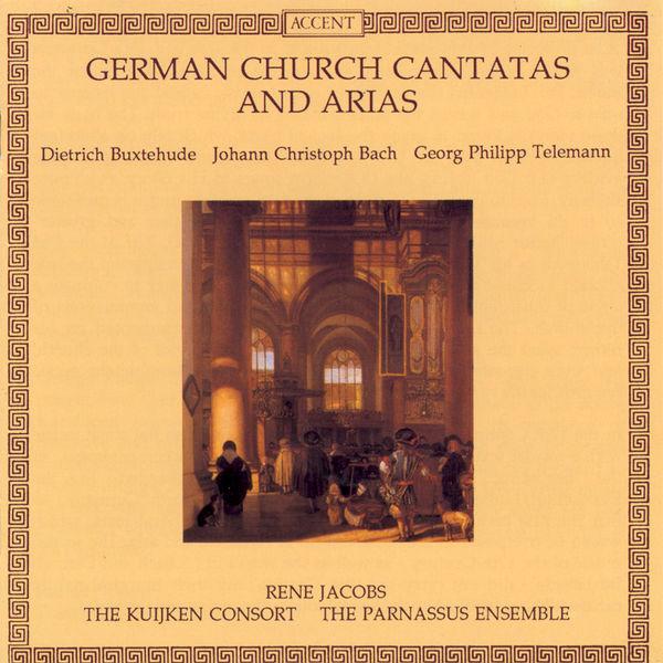 René Jacobs - Cantates & Airs d'église allemands