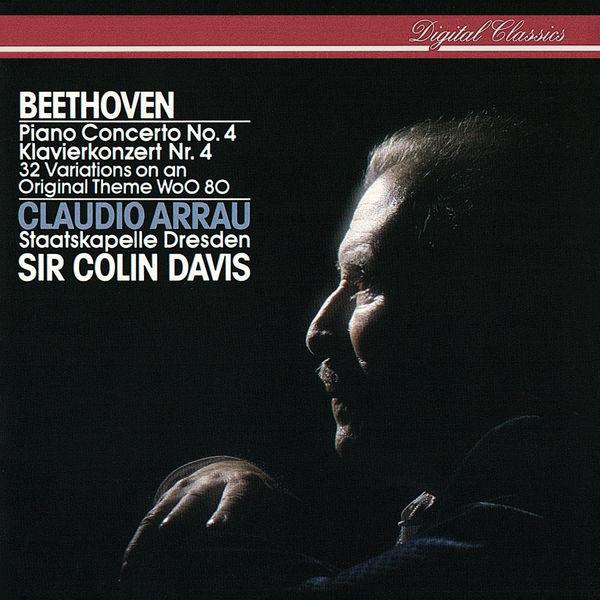 Claudio Arrau - Beethoven: Piano Concerto No. 4; 32 Variations On An Original Theme