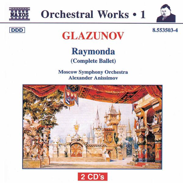 Moscow Philharmonic Orchestra - Raymonda (Complete Ballet)