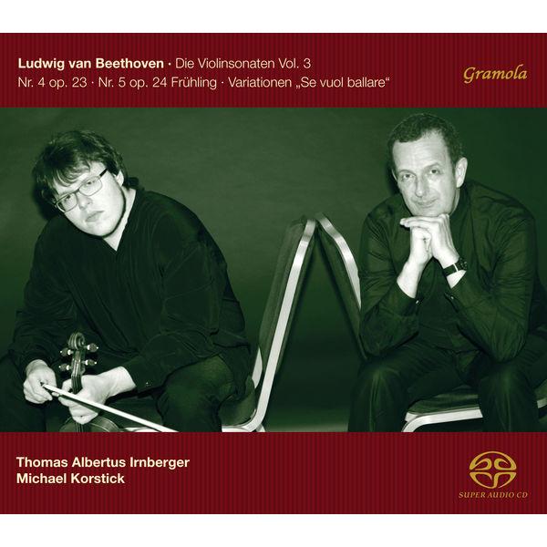 Thomas Albertus Irnberger - Beethoven: The Violin Sonatas, Vol. 3