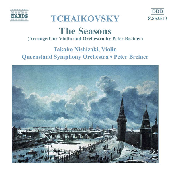 Takako Nishizaki - Seasons (The) (arr. for violin and orchestra)