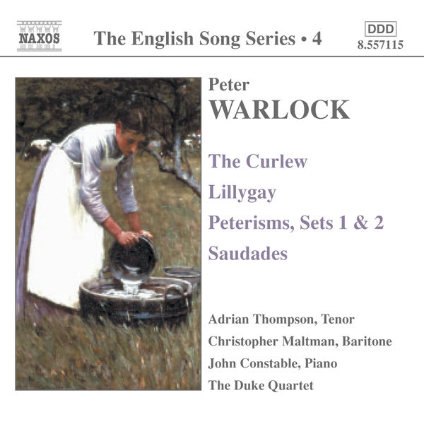 Adrian Thompson - Curlew (The) / Lillygay / Peterisms / Saudades (English Song, Vol. 4)