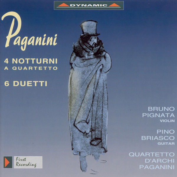 Paganini Quartet - Paganini, N.: 4 Nocturnes / 6 Duets / Quartet No. 7 (Arr. for String Quartet)
