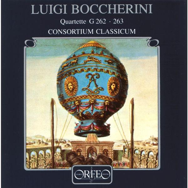 Consortium Classicum - Boccherini: Wind Quartets, G. 262 & 263
