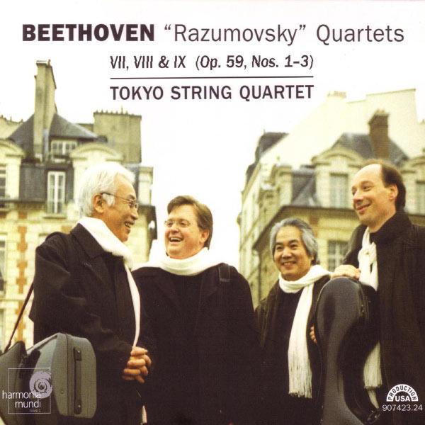 """Tokyo String Quartet - Beethoven: """"Razumovsky"""" Quartets (Op.59, Nos.1-3)"""