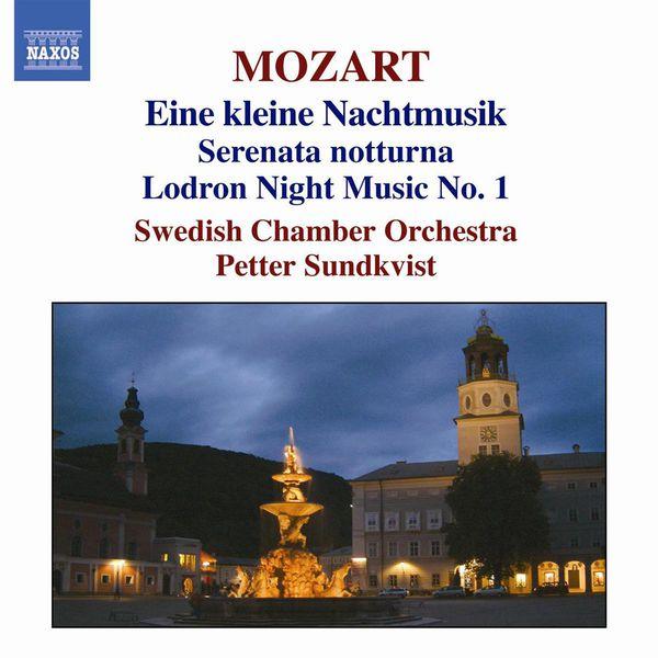 Svenska Kammarorkestern - MOZART: Serenades No. 6 and 13, 'Eine kleine Nachtmusik' / Divertimento No. 10