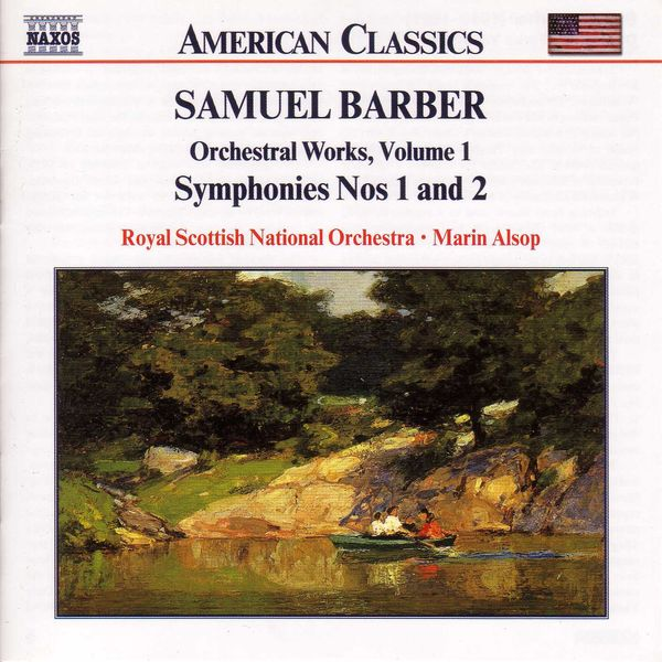 The Royal Scottish National Orchestra - Symphonies Nos. 1 and 2 / Essay for Orchestra No. 1