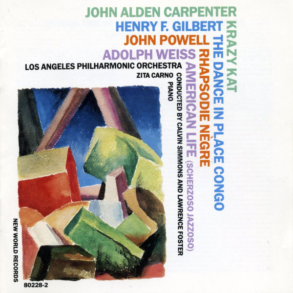 Los Angeles Philharmonic Orchestra - Carpenter/Gilbert/Powell/Weiss