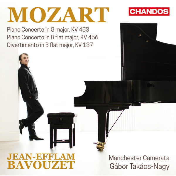 Jean-Efflam Bavouzet - Mozart : Piano Concertos
