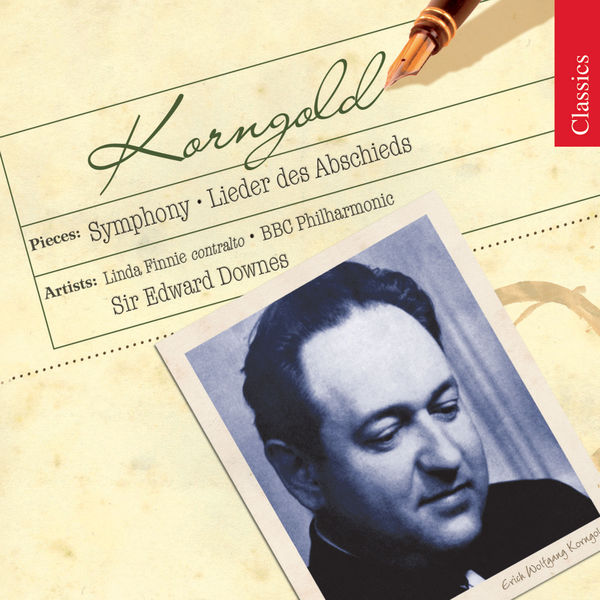 Linda Finnie - KORNGOLD: Lieder des Abschieds / Symphony in F sharp major