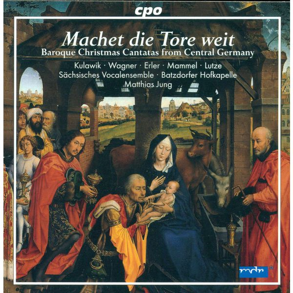 Various Artists - CHRISTMAS BAROQUE CANTATAS (GERMAN) - SCHELLE, J. / PETRITZ, B. / ERLEBACH, P.H. / JACOBI, C.A. / LIEBE, C. / BESSEL, J.E.
